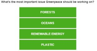 greenpeace survey