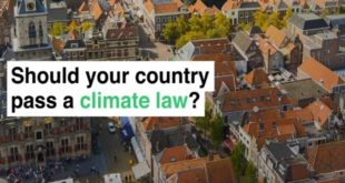 law on climate change