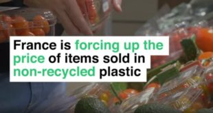 non-recycled plastic