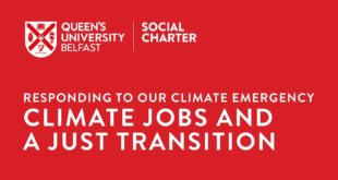 Climate Jobs and a Just Transition: Responding to our Climate Emergency
