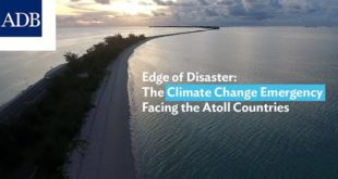 Edge of Disaster: The Climate Change Emergency Facing the Atoll Countries