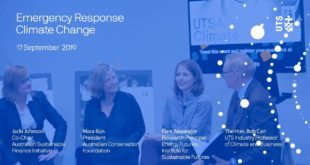 Emergency response: climate change and the future - UTS4Climate