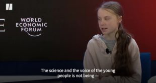 Greta Shames Economic Elite At Davos