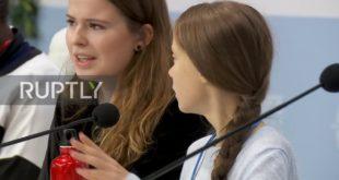 """Spain: Greta Thunberg warns of """"climate emergency"""" at COP25 in Madrid"""