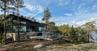 Stunning House on the Rocks uses geothermal power