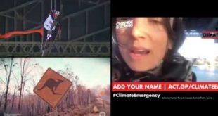 Climate Emergency: activists occupy the Sydney Harbour Bridge