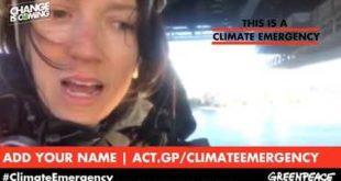 Climate emergency: underneath the Sydney Harbour Bridge