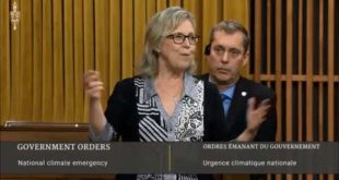 """Elizabeth May debates the climate emergency: """"This is an emergency, and we must work together"""""""
