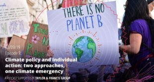 Episode 9 - Anja Kollmuss: Climate policy and individual action: 2 approaches, 1 climate emergency