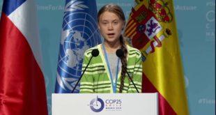 Greta Thunberg | COP 25 High Level Event on Climate Emergency | Extinction Rebellion