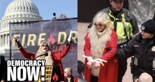Jane Fonda Arrested: We Are in a Climate Emergency. I Have No Choice But to Put My Body on the Line