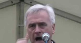 John McDonnell @ climate emergency rally 5 Dec 2009