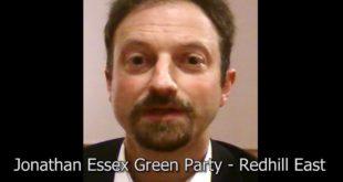 Jonathan Essex announces Climate Emergency