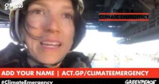 LIVE: Climate Emergency from the Sydney Harbour Bridge