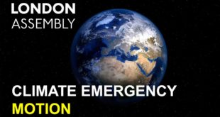 London Assembly Motion Calling on the Mayor to Declare a Climate Emergency