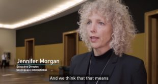 Policymakers should treat the climate issue as the emergency it is – Jennifer Morgan, Greenpeace