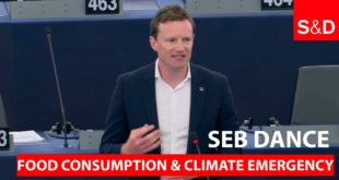 Seb Dance on Food Consumption and Climate Emergency