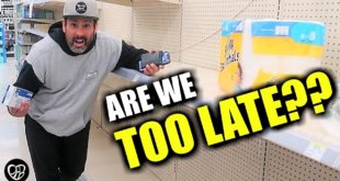 ARE WE TOO LATE? | GLOBAL PANDEMIC CAUSES PANIC BUYING | EVERYTHING IS CANCELLED | EMERGENCY PREP