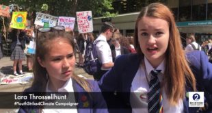Bedford youth demand action over climate crisis