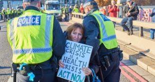 Climate Activist Explains Non-Violent Civil Disobedience