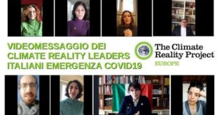 Climate Reality Leader EU - TEAM ITALY - VIDEOMESSAGE 1 ON COVID19 Emergency