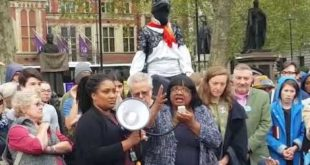 """Diane Abbott MP, """"The climate emergency is the most important issue facing us""""- Extinction Rebellion"""