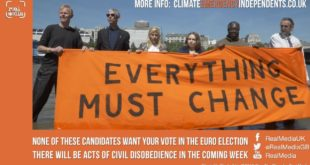 European Election Climate and Ecological Emergency Independents
