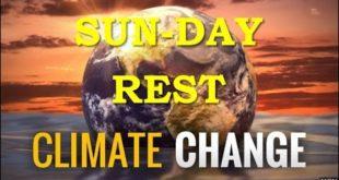 Green Sabbath. Climate Emergency Operation Noah. Sunday Shopping Destroy Families. National ID