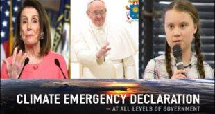 Greta Thunberg Effect On UK Climate Emergency. Nancy Pelosi Moral Crisis. Pope Laudato Si SUNday Law