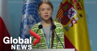 "Greta Thunberg denounces world leaders' ""creative PR"" in climate flight at UN summit"