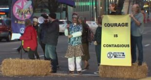 Portland activists rally to declare climate change emergency