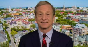 Tom Steyer says there's a divide in Democratic Party