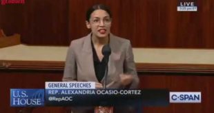 Watch AOC Read Her Green New Deal Resolution And Spot The Parts That Have To Do With Climate Change