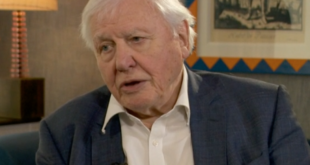'Human beings have overrun the world': David Attenborough calls for an end to waste in impassioned plea to address climate change