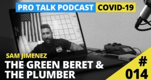 #014: The Green Beret & The Plumber - Sam Jimenez