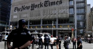 70 'Climate Emergency' Protesters Arrested Outside The New York Times