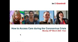 Accessing Care during the Coronavirus Crisis - 30th March 2020admin