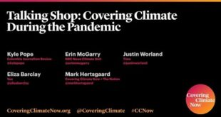CCNow TalkingShop - Reporting on Climate Change During the Coronavirus Pandemic
