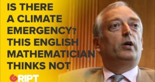 Climate Emergency? Lord Christopher Monckton explains why we shouldn't fear climate change