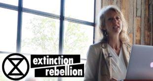 Dr Gail Bradbrook | Fir Farm 2019  | Extinction Rebellion