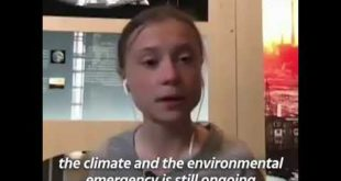 Greta Thunberg: we need to tackle the coronavirus pandemic at the same time as the climate emergency