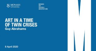 Guy Abrahams: Art in a time of twin crises: climate change and COVID-19