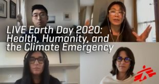 LIVE Earth Day 2020: Health, Humanity, and the Climate Emergency