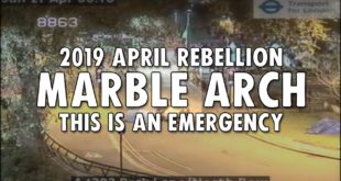 Marble Arch - This is an Emergency | Extinction Rebellion
