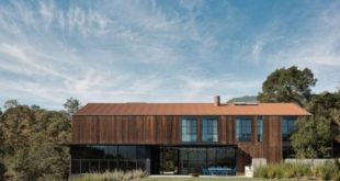 Reclaimed wood home resembles barns in Sonoma Valley