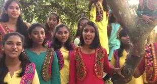 The Harmony Chorus from Bangalore sing the RESOLUTION SONG