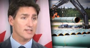 "Trudeau approves Trans-Mountain pipeline expansion despite declaring a ""climate emergency"""