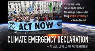 WARNING: The Sunday Movement- Sydney, Paris, NY, Canada, UK, Congress CLIMATE EMERGENCY Laudato Si