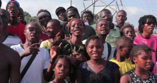 WayOUT Arts from Sierra Leone sing the RESOLUTION SONG