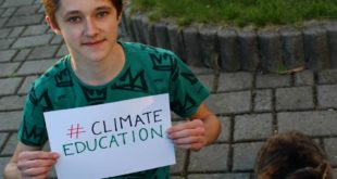 We need climate education in schools. . #climateeducation is one of our postulat...